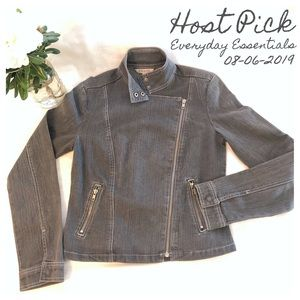 🎉Host Pick: RW&Co Denim Moto Jacket